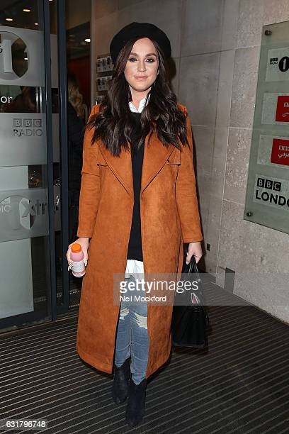 Vicky Pattison seen at BBC Radio One on January 16 2017 in London England