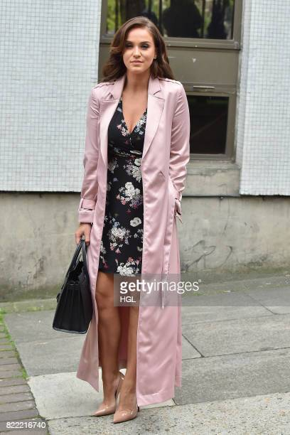Vicky Pattison seen at the ITV Studios on July 25 2017 in London England