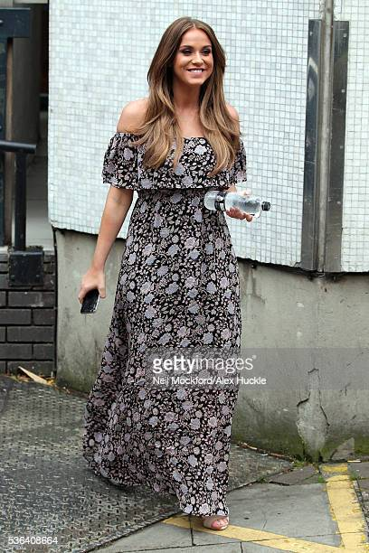 Vicky Pattison seen leaving the ITV Studios after hosting 'Loose Women' on June 1 2016 in London England