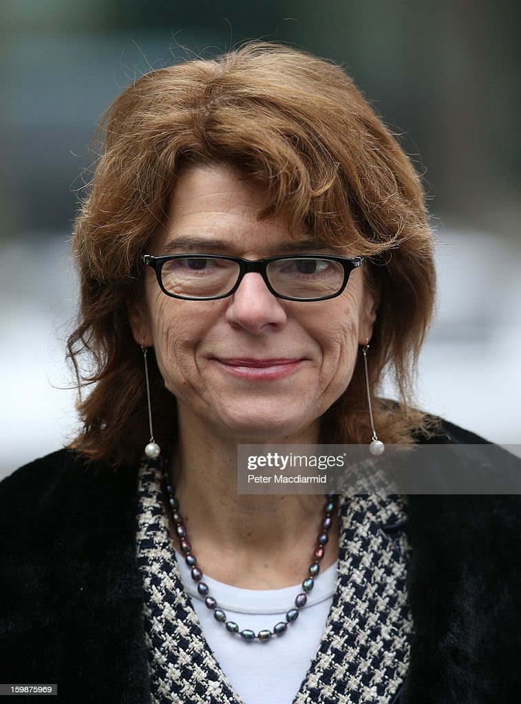 Vicky Pryce arrives at Southwark Crown Court on January 22, 2013 in London, England.