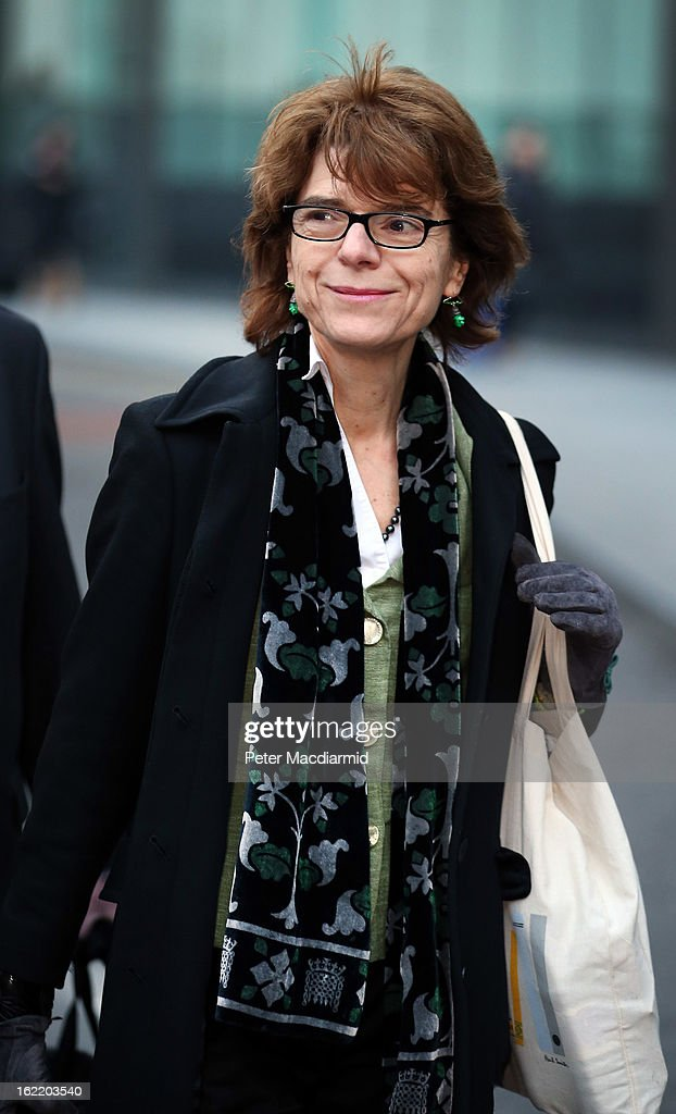<a gi-track='captionPersonalityLinkClicked' href=/galleries/search?phrase=Vicky+Pryce&family=editorial&specificpeople=8908142 ng-click='$event.stopPropagation()'>Vicky Pryce</a>, ex-wife of Chris Huhne, leaves Southwark Crown Court on February 20, 2013 in London, England. Former Cabinet member Chris Huhne has pleaded guilty to perverting the course of justice over claims his ex-wife took speeding points for him in 2003. Ms Pryce, 60, faces a re-trial after the jury failed to reach a verdict.