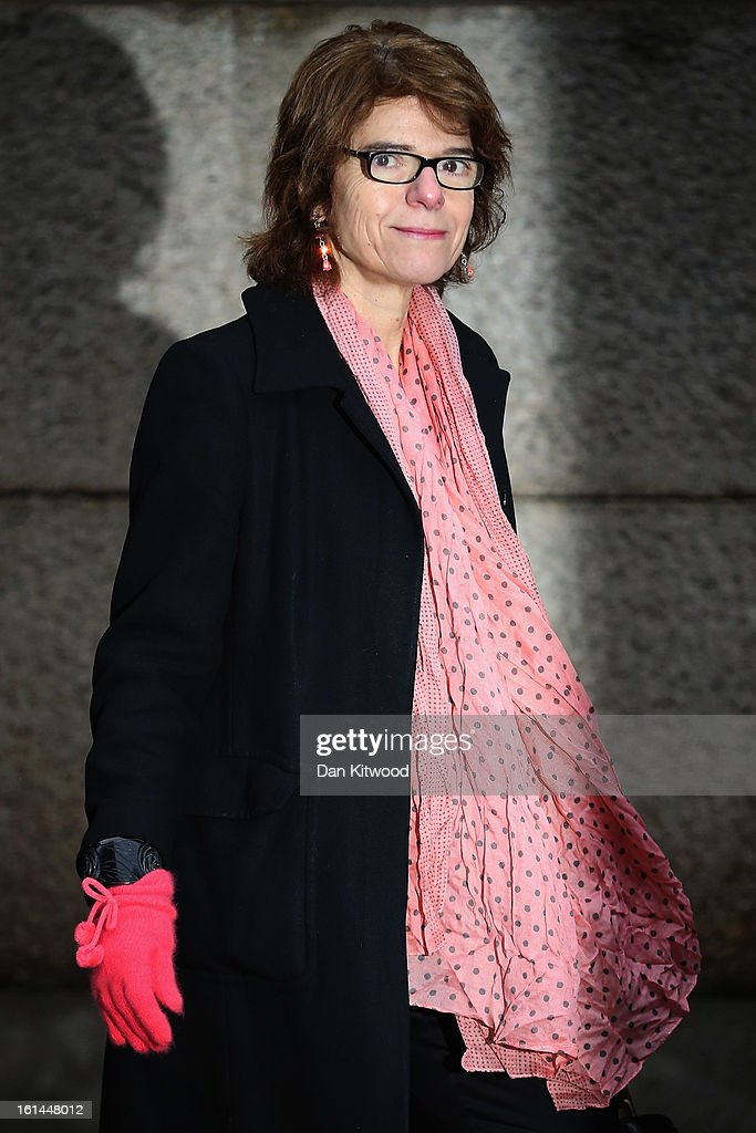 Vicky Pryce, the ex-wife of Chris Huhne, arrives at Southwark Crown Court on February 11, 2013 in London, England. Former Cabinet member Chris Huhne has pleaded guilty to perverting the course of justice over claims his ex-wife took speeding points for him in 2003. Ms Pryce, 60, has pleaded not guilty to the same offence on grounds of marital coercion.