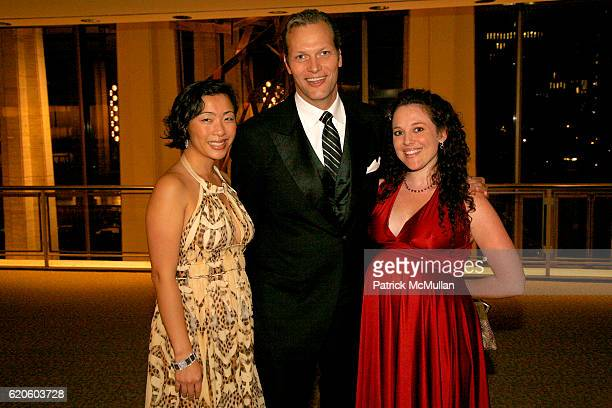 Vicky Tam Marc Hruschka and Raina Miranda attend CHOPARD sponsors NEW YORK FILM FESTIVAL Opening Night at Avery Fisher Hall on September 26 2008 in...
