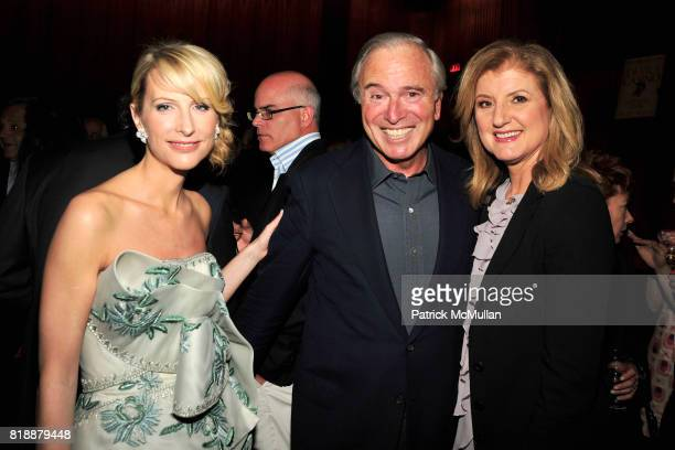 Vicky Ward Ken Auletta and Arianna Huffington attend Book Release Party for VICKY WARD's New Book 'THE DEVIL'S CASINO' at Four Seasons Restaurant on...