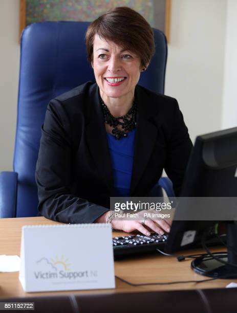 Victim Support NI Chief Executive Susan Reid speaking to the Press Association in her office in Belfast as the first strategy for victims and...