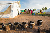 Victims of Malawi's worst ever floods in a refugee camp