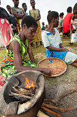 Victims of Malawi's worst ever floods in a refugee camp.