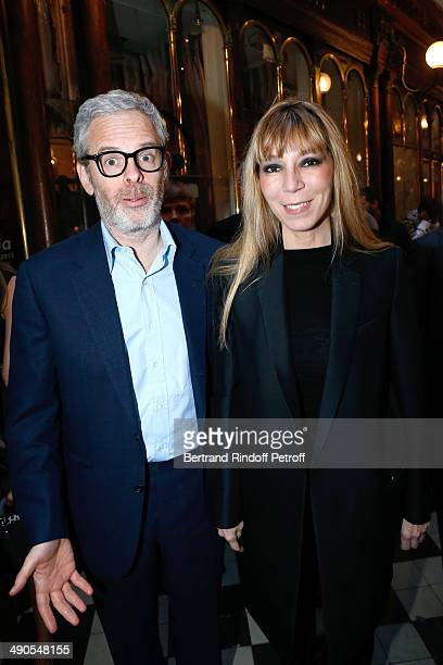 Victoire de Castellane and her husband artistic director Thomas Lenthal attend the 'Voila Cherie' Gloria von Thurn und Taxis Exhibition opening party...