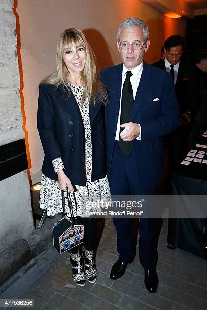 Victoire de Castellane and her husband Thomas Lenthal attend the 'Alaia' Azzedine Alaia Perfum Launch Party on May 21 2015 in Paris France