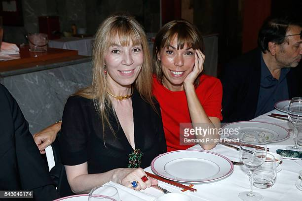 Victoire de Castellane and her sister Mathilde Favier attend the Dinner following the Private View of 'Francoise Sagan Photographer' Photo Exhibition...