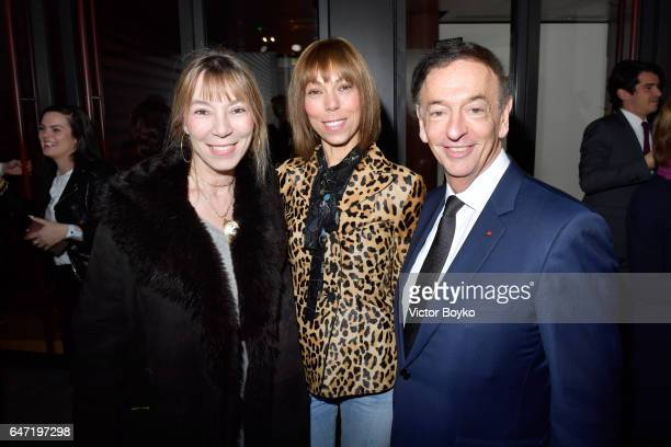 Victoire de Castellane and Mathilde Favier attend the Cocktail Reception For The LVMH PRIZE 2017 on March 2 2017 in Paris France