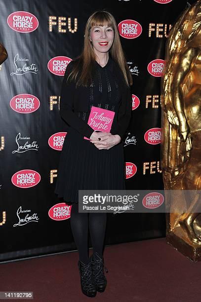 Victoire De Castellane attends 'Feu' Directed By Christian Louboutin VIP Premiere at Le Crazy Horse on March 12 2012 in Paris France