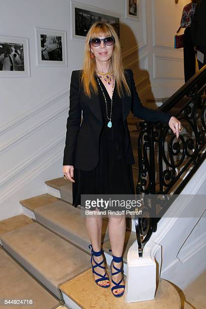 Victoire de Castellane attends the Christian Dior Haute Couture Fall/Winter 20162017 show as part of Paris Fashion Week on July 4 2016 in Paris France