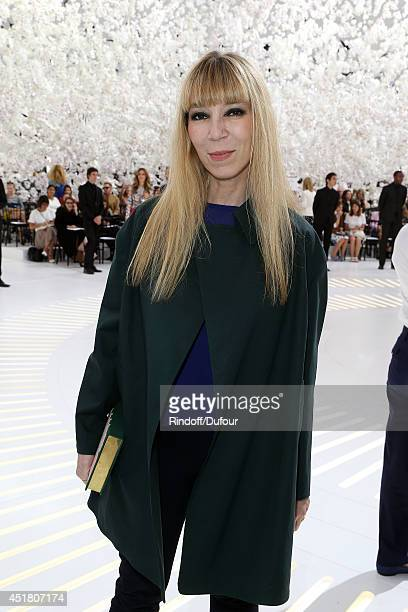 Victoire de Castellane attends the Christian Dior show as part of Paris Fashion Week Haute Couture Fall/Winter 20142015 at Muse Rodin on July 7 2014...
