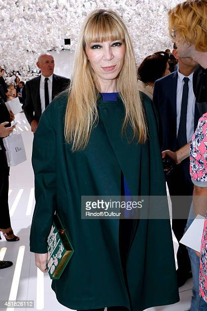 Victoire de Castellane attends the Christian Dior show as part of Paris Fashion Week Haute Couture Fall/Winter 20142015 Held at Musee Rodin on July 7...