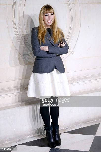 Victoire de Castellane attends the Christian Dior show as part of Paris Fashion Week Haute Couture Spring/Summer 2014 on January 20 2014 in Paris...