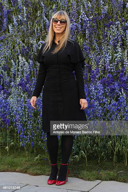 Victoire de Castellane attends the Christian Dior show as part of the Paris Fashion Week Womenswear Spring/Summer 2016 on October 2 2015 in Paris...