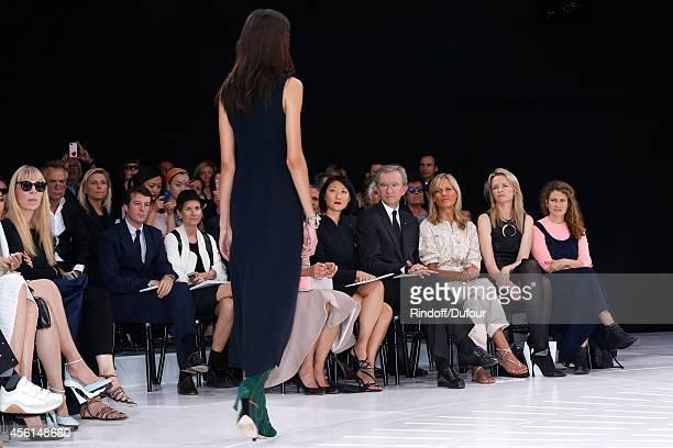 Victoire de Castellane French minister of Culture and Communication Fleur Pellerin Owner of LVMH Luxury Group Bernard Arnault his wife Helene Arnault...