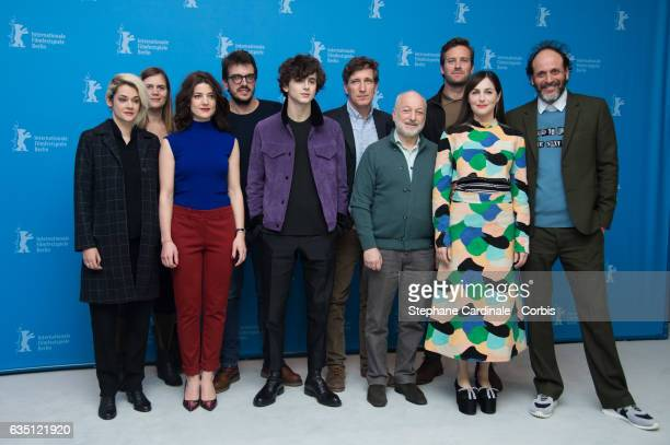 Victoire du Bois guest Esther Garrel producer Rodrigo Teixeira Timothee Chalamet producer Peter Spears writer Andre Aciman actors Armie Hammer Amira...