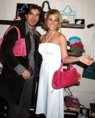Victor Alfieri and McKenzie Westmore during Elahn Boutique Kicks off Summer Fashion Cocktail Party at Elahn Boutique in Studio City California United...