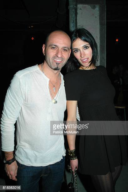Victor Calderone and Athena Calderone attend Patricia Field Paradise Garage Collection Launch at Good Units at The Hudson Hotel on February 11 2010...