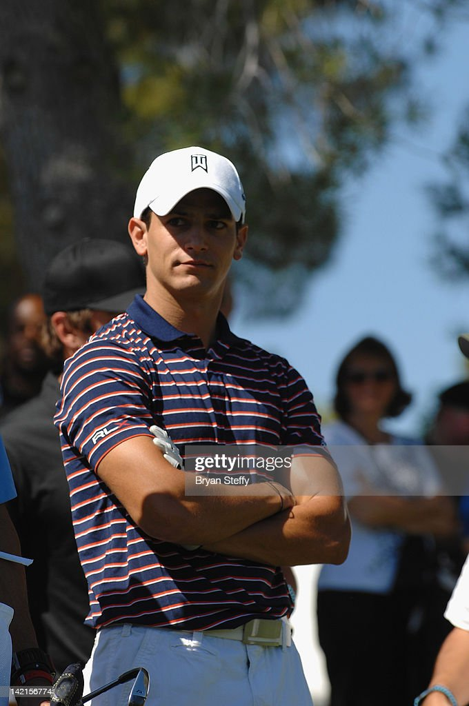 Victor Califa Jr competes at the 11th Annual Michael Jordan Celebrity Invitational hosted by Aria Resort & Casino at Shadow Creek on March 30, 2012 in Las Vegas, Nevada.