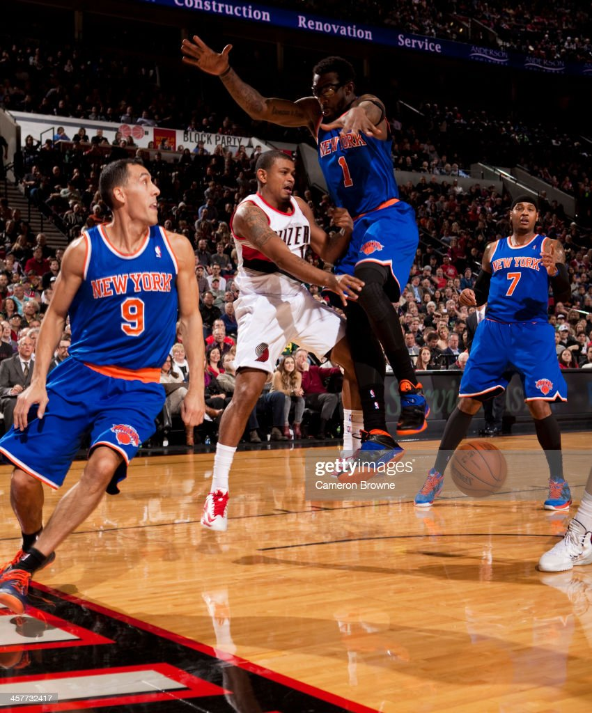 New York Knicks v Portland Trail Blazers