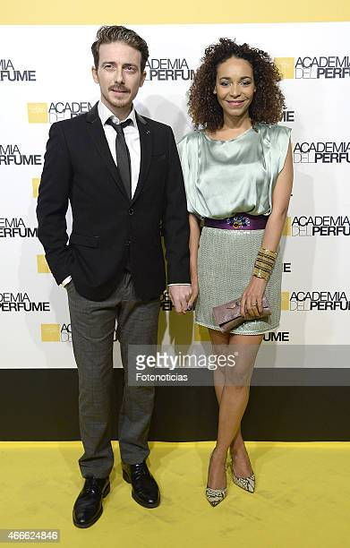 Victor Clavijo and Montse Pla attend the 'Academia del Perfume' 2015 Awards at Casa de America on March 17 2015 in Madrid Spain