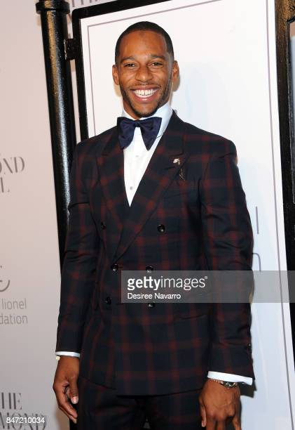 Victor Cruz attends Rihanna's 3rd Annual Diamond Ball at Cipriani Wall Street on September 14 2017 in New York City