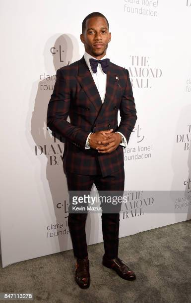 Victor Cruz attends Rihanna's 3rd Annual Diamond Ball Benefitting The Clara Lionel Foundation at Cipriani Wall Street on September 14 2017 in New...
