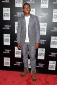 Victor Cruz attends the Dick's Sporting Goods 'We Could Be King' Premiere during the 2014 Tribeca Film Festival at Sunshine Landmark on April 23 2014...