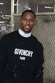 Victor Cruz attends the Givenchy Menswear Spring/Summer 2016 show as part of Paris Fashion Week on June 26 2015 in Paris France