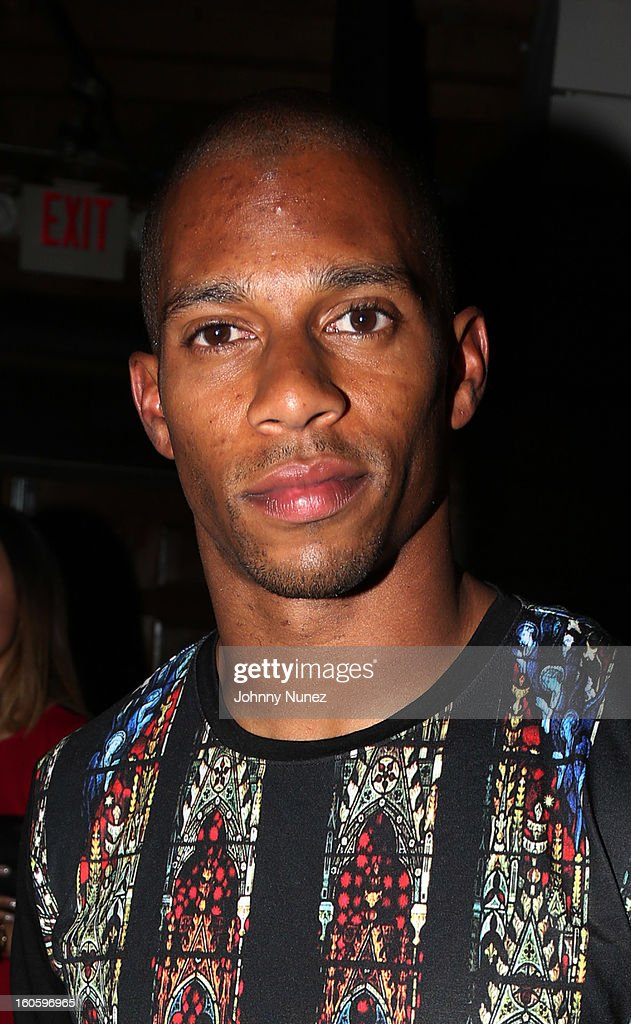 Victor Cruz attends the Jay-Z & D'Usse Super Bowl Party at The Republic on February 2, 2013, in New Orleans, Louisiana.