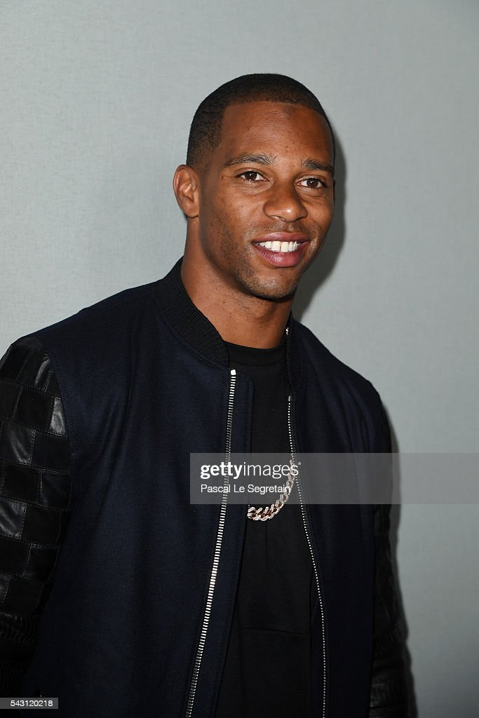Victor Cruz attends the Lanvin Menswear Spring/Summer 2017 show as part of Paris Fashion Week on June 26, 2016 in Paris, France.