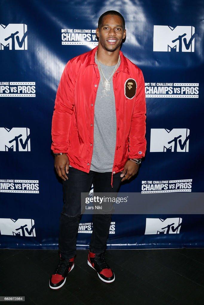 "MTV ""Champs vs. Pros"" Victor Cruz Screening Party"