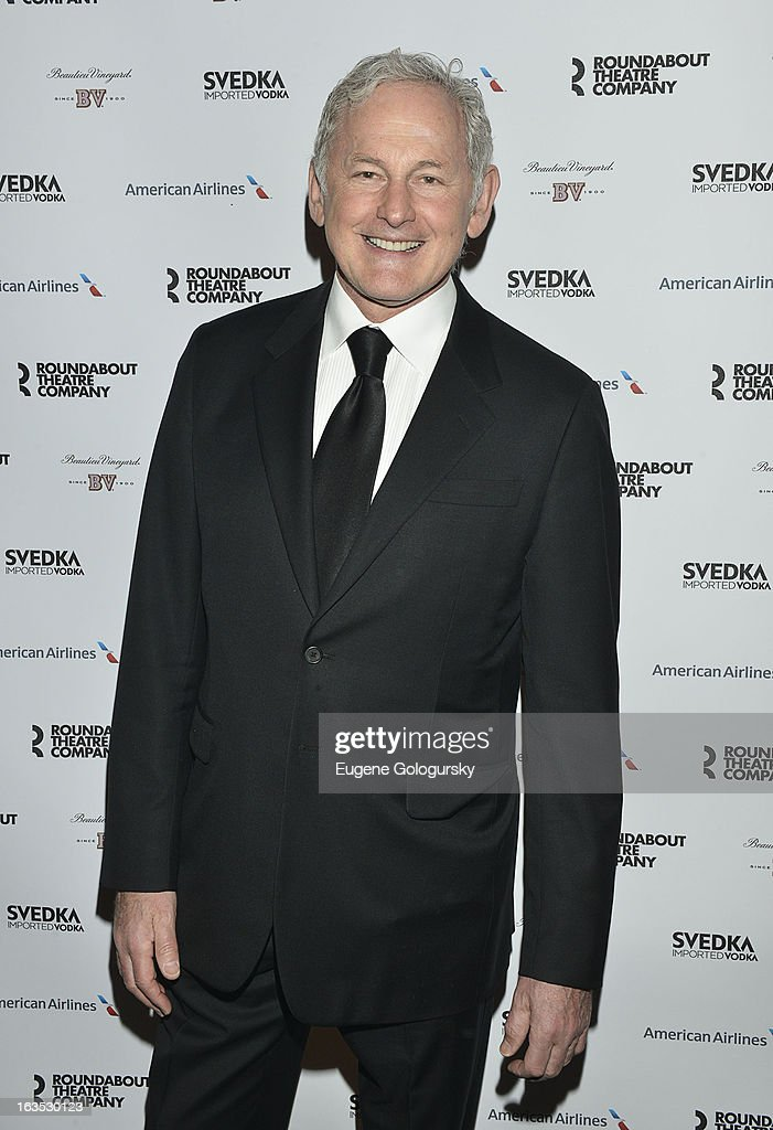 <a gi-track='captionPersonalityLinkClicked' href=/galleries/search?phrase=Victor+Garber&family=editorial&specificpeople=208795 ng-click='$event.stopPropagation()'>Victor Garber</a> attends the 2013 Roundabout Theatre Company Spring Gala at Hammerstein Ballroom on March 11, 2013 in New York City.