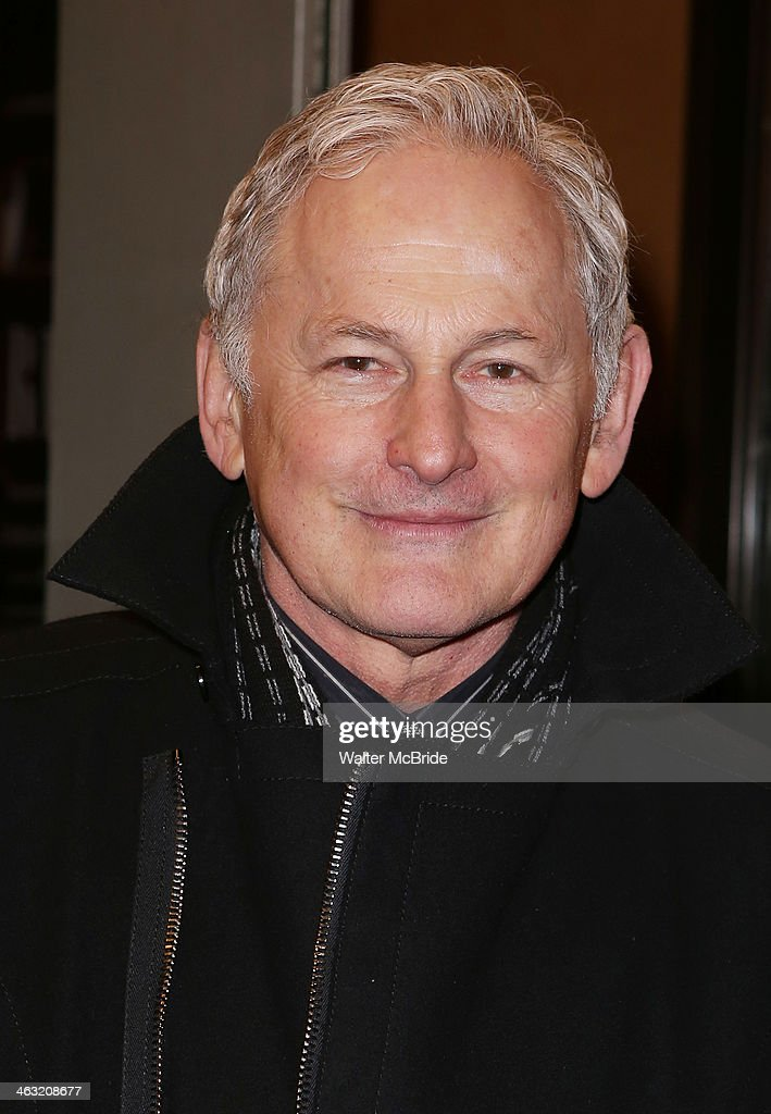 <a gi-track='captionPersonalityLinkClicked' href=/galleries/search?phrase=Victor+Garber&family=editorial&specificpeople=208795 ng-click='$event.stopPropagation()'>Victor Garber</a> attends the Broadway opening night of 'Machinal' at American Airlines Theatre on January 16, 2014 in New York, New York.