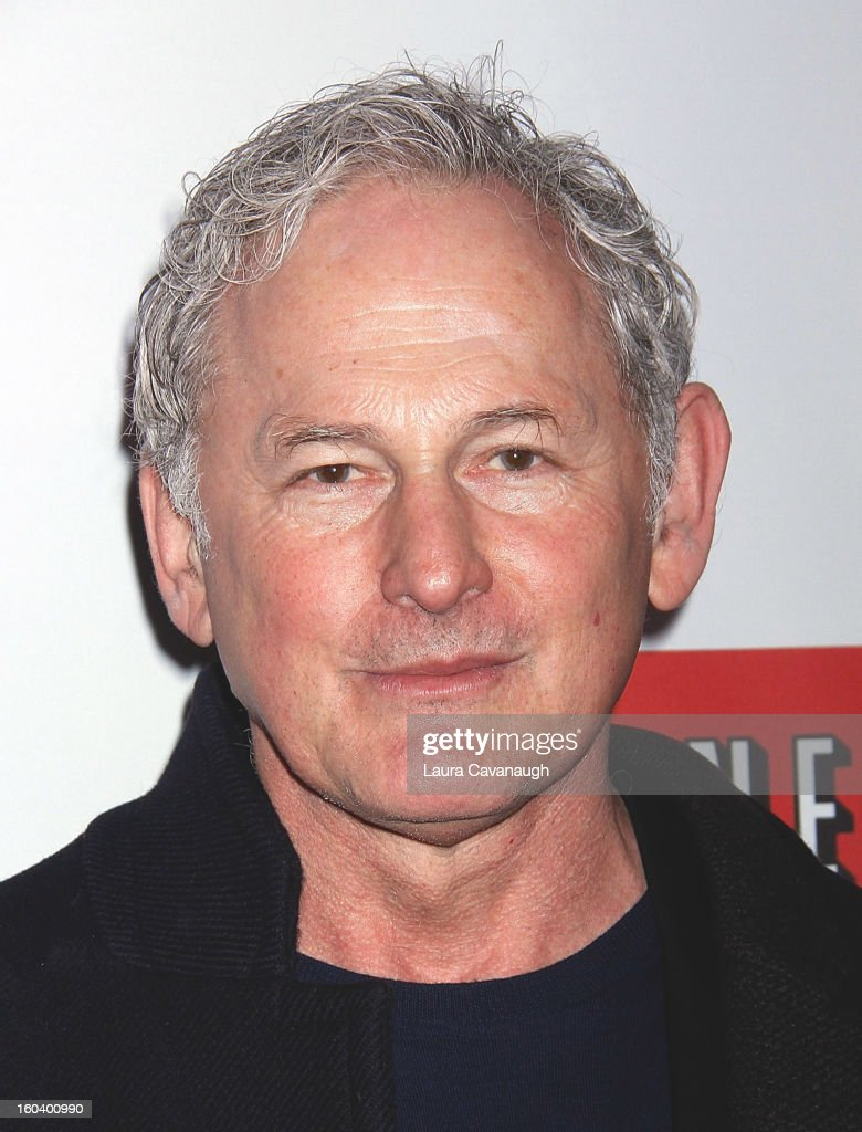 Victor Garber attends the 'House Of Cards' premiere at Alice Tully Hall on January 30, 2013 in New York City.