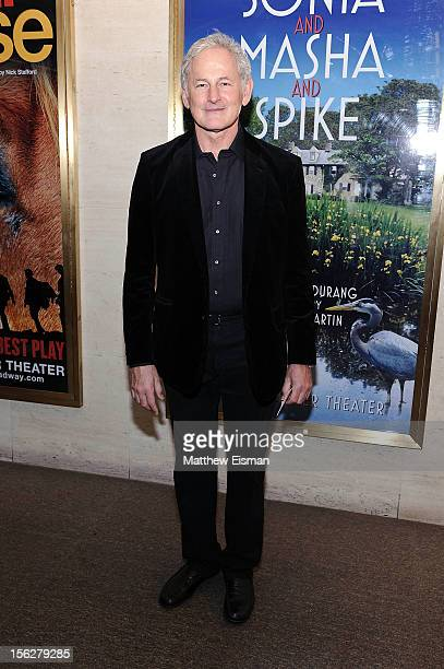 Victor Garber attends the opening night of 'Vanya And Sonia And Masha And Spike' at Mitzi E Newhouse Theater on November 12 2012 in New York City