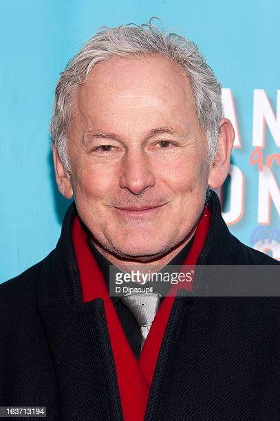 Victor Garber attends the 'Vanya And Sonia And Masha And Spike' Broadway Opening Night at The Golden Theatre on March 14 2013 in New York City