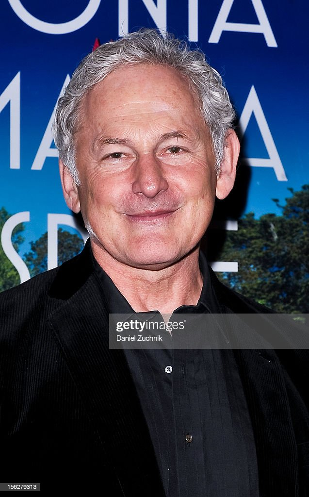 <a gi-track='captionPersonalityLinkClicked' href=/galleries/search?phrase=Victor+Garber&family=editorial&specificpeople=208795 ng-click='$event.stopPropagation()'>Victor Garber</a> attends the 'Vanya and Sonia and Masha and Spike,' press night at Mitzi E. Newhouse Theater on November 12, 2012 in New York City.
