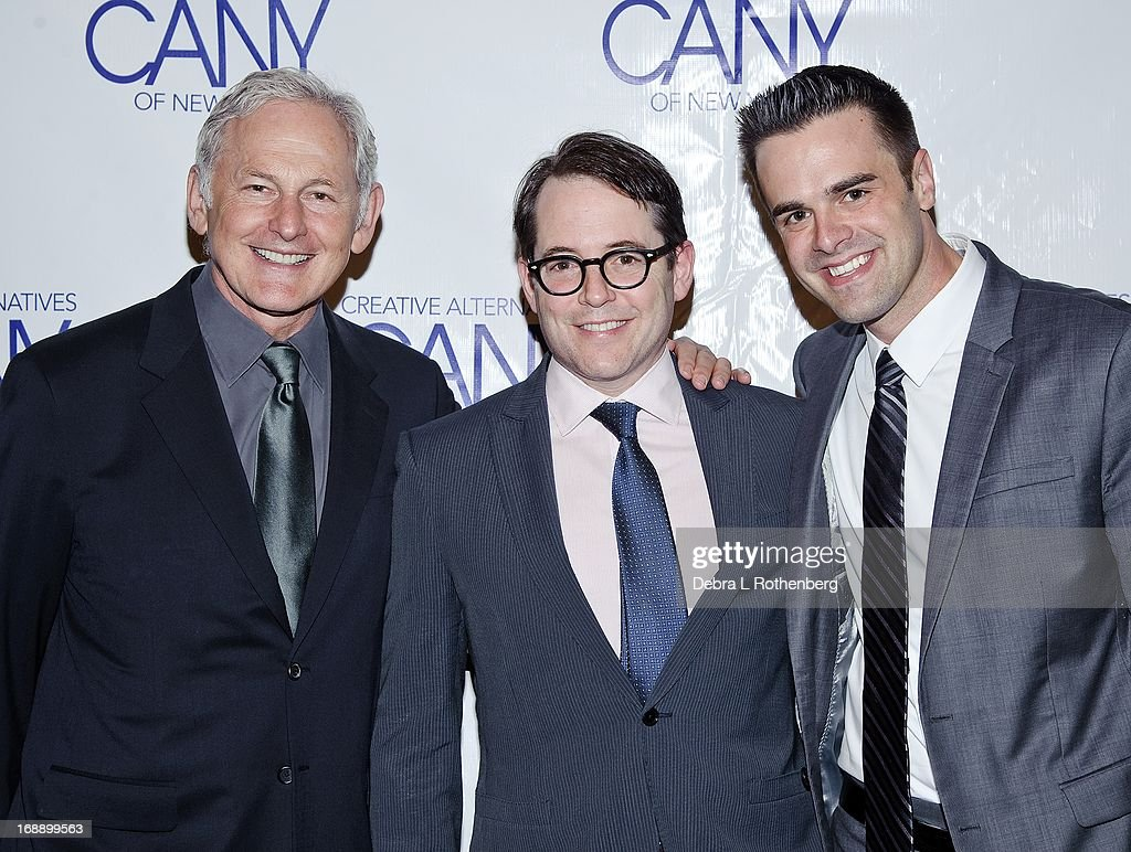<a gi-track='captionPersonalityLinkClicked' href=/galleries/search?phrase=Victor+Garber&family=editorial&specificpeople=208795 ng-click='$event.stopPropagation()'>Victor Garber</a>, <a gi-track='captionPersonalityLinkClicked' href=/galleries/search?phrase=Matthew+Broderick&family=editorial&specificpeople=201912 ng-click='$event.stopPropagation()'>Matthew Broderick</a> and Michael J. Moritz attend The Pearl Gala 2013 at The Edison Ballroom on April 29, 2013 in New York City.