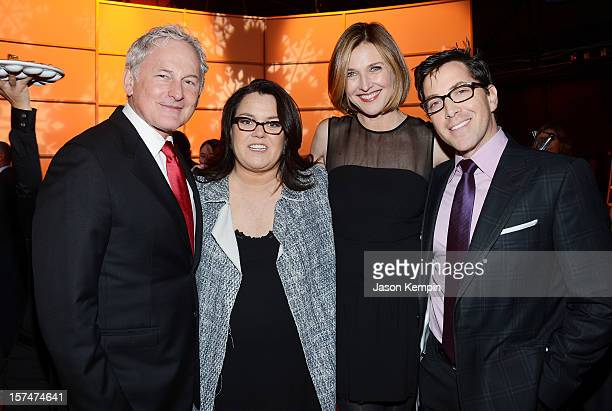 Victor Garber Rosie O'Donnell Brenda Strong and Dan Bucatinsky attend The American Fertility Association's Illuminations NYC 2012 on December 3 2012...