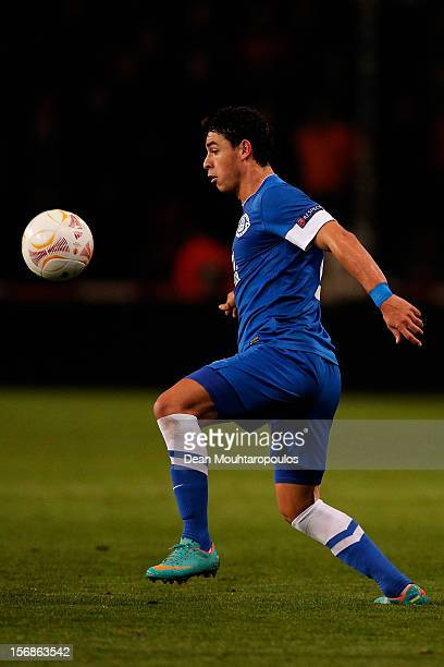 Victor Giuliano of Dnipro runs with the ball during the UEFA Europa League Group F match between PSV Eindhoven and FC Dnipro Dnipropetrovsk at the...