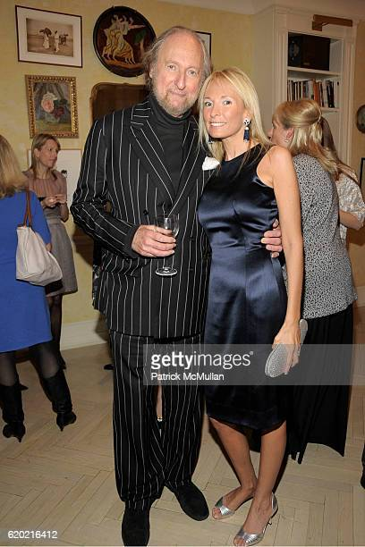 Victor Gross and Pamela Gross attend TINA BROWN VICKY WARD and LA MER host party honoring SUSAN NAGEL'S new book 'Marie Therese' at Tina Brown and...