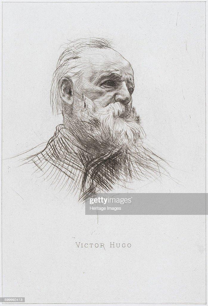 Victor Hugo 1884 Private Collection Artist Rodin Auguste