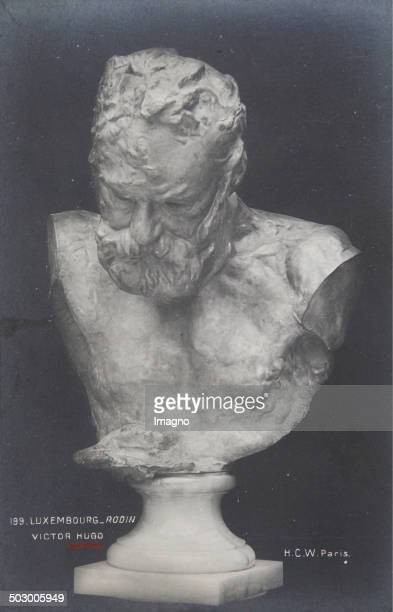 Victor Hugo About 1900 Sculpture by Auguste Rodin Photograph