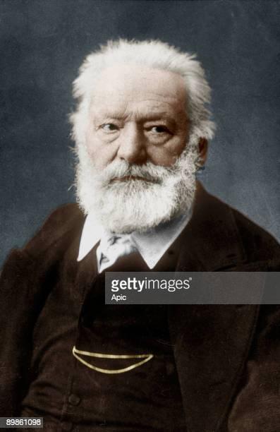 Victor Hugo french poet and novelist here c 1885