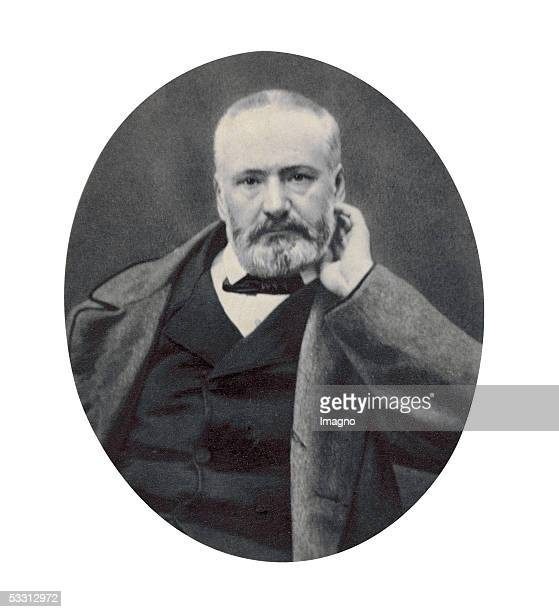 Victor Hugo French poet Around 1865 CartedevisitePhotography by Pierre Petit Paris [Victor Hugo franzoesischer Dichter Um 1865...