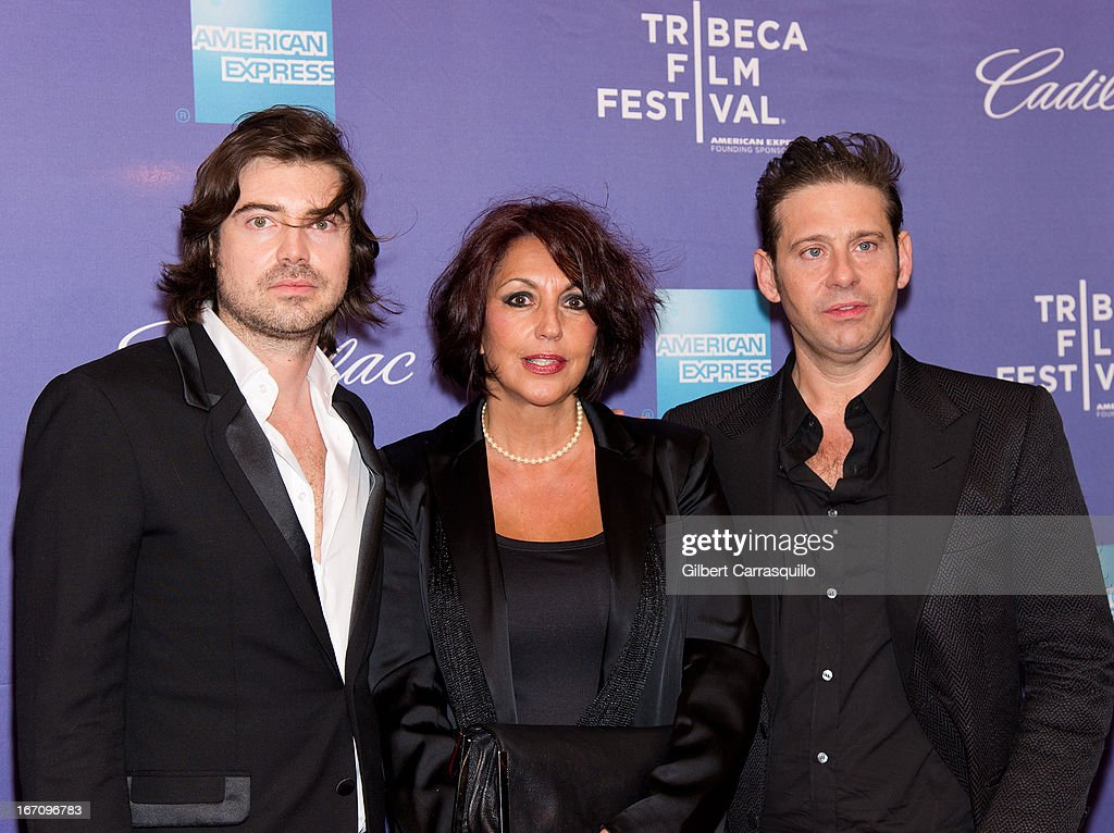 Victor Kubicek, Eleanor Squillari and Derek Anderson attend the screening of 'In God We Trust' during the 2013 Tribeca Film Festival at SVA Theater on April 19, 2013 in New York City.